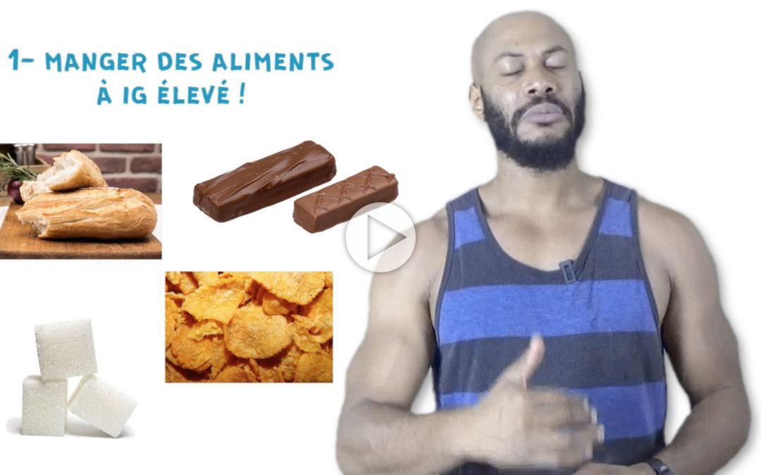 5 Habitudes pour prendre du gras ! «Ironie»